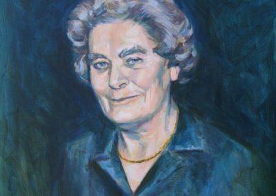 Portrett av tante Erna